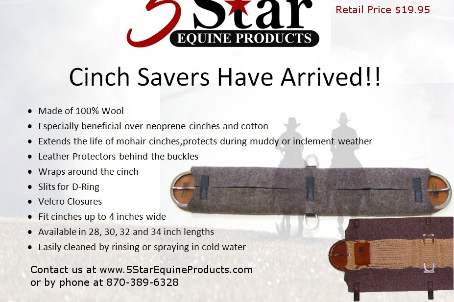 5 STAR Mohair Cinch Saver