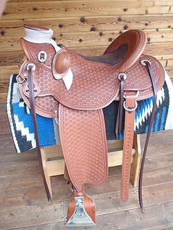 Saddle Outfitters LLC - Custom Wade Full Covered Saddle